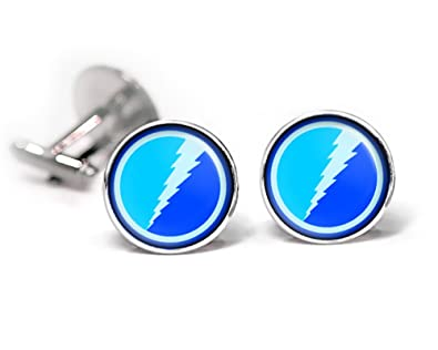 Amazon.com: SharedImagination Quicksilver Cufflinks, The X-Men Jewelry, Avengers Tie Clip, Superhero Wedding Party and Groomsmen Gift Gifts, Geek Geeky: ...