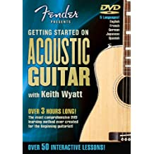 Fender DVD Package Getting Started On Acoustic Guitar