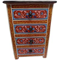 Handpainted Moroccan 3 Drawer Dresser