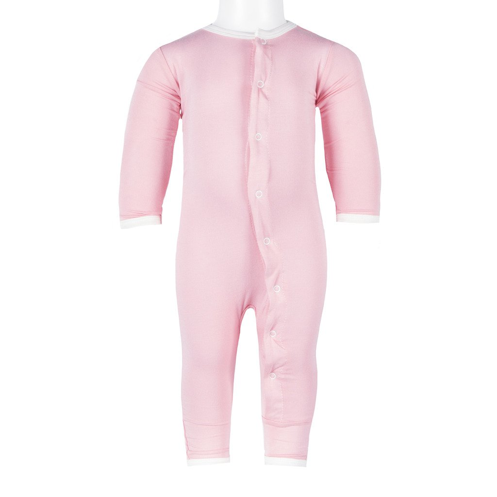 Kickee Pants Girls' Toddler Holiday Fitted Applique Coverall, Lotus I Love Mom, 3T by Kickee Pants (Image #2)