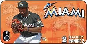 Miami Marlins MLB iPhone 4-4S Case v5 3102mss