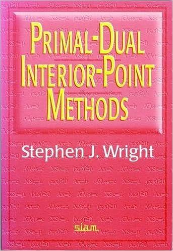 Primal Dual Interior Point Methods