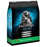 Purina Pro Plan Dry Dog Food, Focus, Adult Small Breed Formula, 6-Pound Bag, Pack of 1
