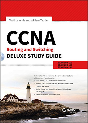 Download CCNA Routing and Switching Deluxe Study Guide: Exams 100-101, 200-101, and 200-120 Pdf