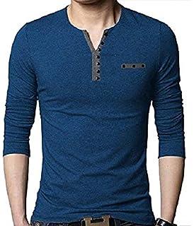 b7f14c3f2f2 EYEBOGLER Men s Cotton T-Shirt (Pack Of 1) (Un1Wm)  Amazon.in ...