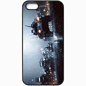 Personalized iPhone 5 5S Cell phone Case/Cover Skin Battlefield 4 Black by lolosakes
