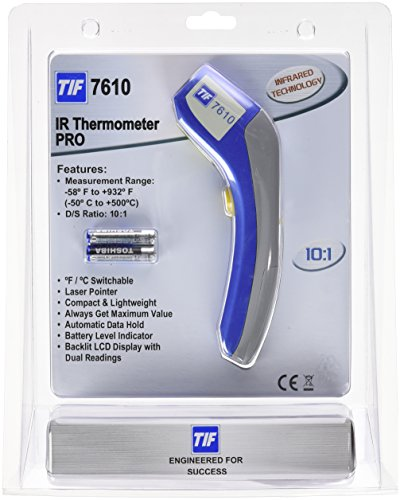 Robinair TIF7610 Infrared Thermometer PRO with 10:1 Distance To Spot Ratio by Robinair (Image #2)