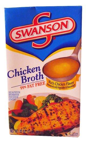 SWANSON CHICKEN BROTH 32oz 3pack