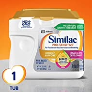 Similac Pro-Sensitive Infant Formula with 2'-FL Human Milk Oligosaccharide* (HMO) for Immune Support, 22.5 ounces