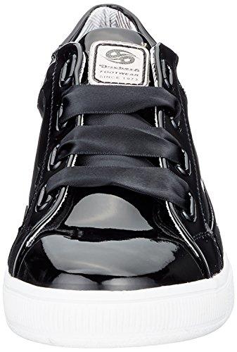 100 Mujer para Zapatillas Dockers by Schwarz Gerli 41ce212 Negro 670100 Wwffzg7q