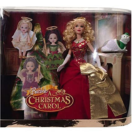barbie a christmas carol eden starling and the 3 christmas spirits gift set - Barbie A Christmas Carol