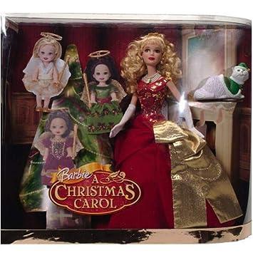 amazoncom barbie a christmas carol eden starling and the 3 christmas spirits gift set toys games - Barbie Christmas Carol