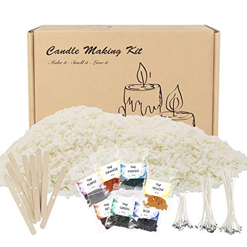soy wax candle making kit - 8