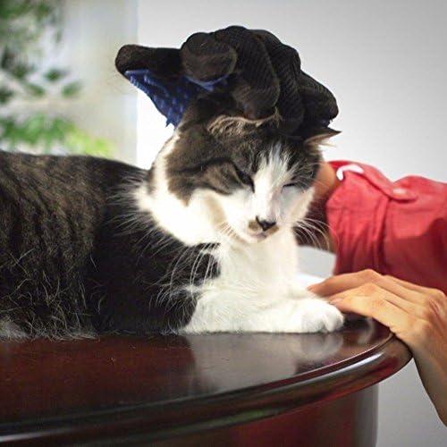 G-MOTIONS - Gants de Toilettage Massage Chien Chat - Nettoyage de Poils d'animaux en Caoutchouc (1 Gant)