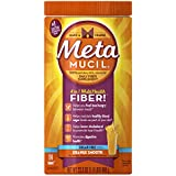 Metamucil Psyllium Fiber Supplement by Meta Orange Smooth Sugar Free Powder 114 doses, 23.3 Ounce