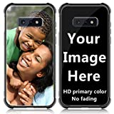 Shumei Custom Case for Samsung Galaxy S10e Glass Cover 5.8 inch Anti-Scratch Soft TPU Personalized Photo Make Your Own Picture Phone Cases