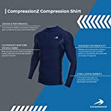 CompressionZ Mens Quick Dry Compression Long Sleeve