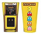 2 pac cup - Pac-Man Arcade Game Cabinet and Characters Pint Glass 2-Pack
