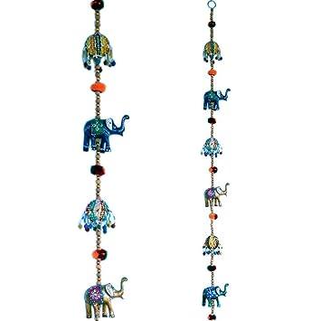 Buy Jaipur Crafts Rajasthani Door Hanging Elephant Handicraft Online
