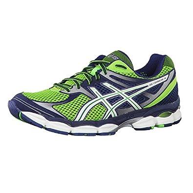 Asics Gel-Cumulus 14 Running Shoe Neon Green / Whi: Amazon