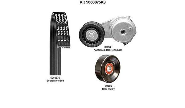5060875K3 Dayco Serpentine Belt Kit