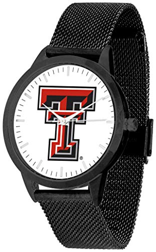 (Texas Tech Red Raiders - Mesh Statement Watch - Black Band)