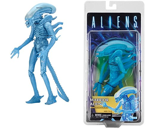 [Shalleen ALIENS SERIES 11 KENNER WARRIOR ALIEN (BLUE) 9