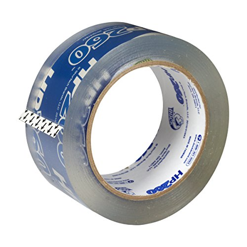 Duck HP260 Packing Tape Refill, 8 Rolls, 1.88 Inch x 60 Yard, Clear (1067839) by Duck (Image #1)'