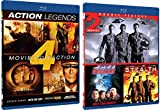Action Legends [Blu Ray] Stealth / Vertical Limit / Universal Soldier / Second Command / Attack Force / Into the Sun Action Movie Set