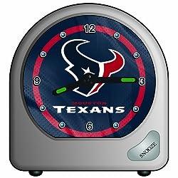 NFL Houston Texans Desk Clock, 2.75 x 2.75