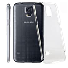 S5 Case, [Minimal Series] Galaxy S5 cases- [Crystal Clear] Compatible With Samsung Galaxy S5 SV S IV i9600 - Hard Case Shell Cover Skin Cases By Cable and Case® - Crystal Clear...