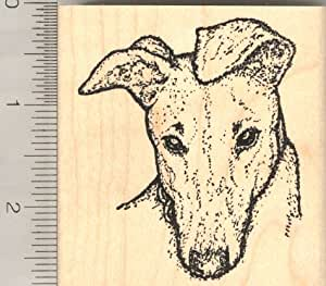 greyhound dog rubber stamp arts crafts sewing. Black Bedroom Furniture Sets. Home Design Ideas