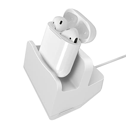 Soporte de carga para Airpods inalámbrico Bluetooth auriculares y iphone Compatible iPhone7/7plus,6S