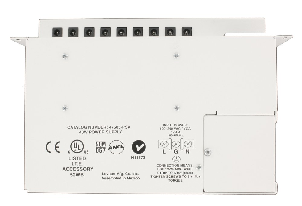 Leviton 47605-PSA Universal Power Supply, White - Electrical Outlet ...