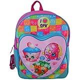 "Shopkins SPKIN  FBA_SPKIN Kids Backpack, 16"""