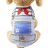 Iuhan® Pet Clothes, Summer Pet Dog Clothes Puppy Dog Cat Vest Shirt Fake Strap