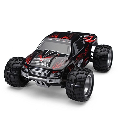 WLtoys A979 RC Car 1:18 Remote Control Electric Vehicle 2.4G 4WD Off Road Buggy Radio Control RTR Red