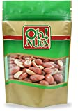 unsalted roasted shelled peanuts - Dry Redskin Peanuts Roasted Unsalted (5 Pound Bag) - Oh! Nuts