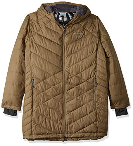 Columbia Heavenly Plus Size Long Hooded Jacket, 2X, ()