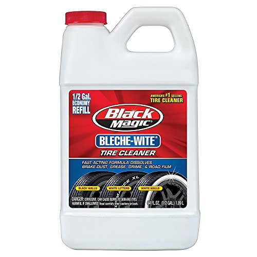 Black Magic 800002223 Bleche-Wite Tire Cleaner, 64 oz.