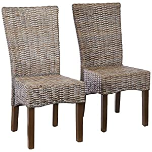 51PMWewXUaL._SS300_ Coastal Dining Accent Chairs & Beach Dining Accent Chairs