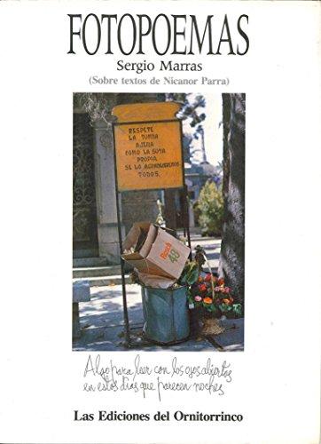 Descargar Libro Fotopoemas: Sergio Marras