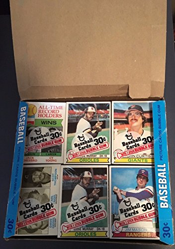 Topps Baseball Cello - 1979 TOPPS BASEBALL CELLO PACK - 1 PACK OF 18 CARDS