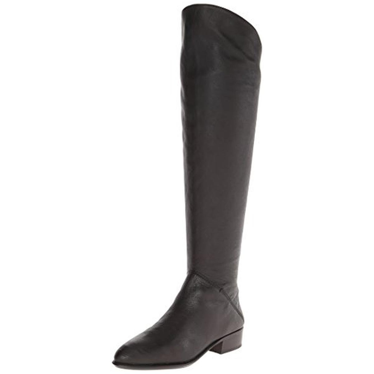 Dolce Vita Women's Meris Riding Boot,Black,6 M US