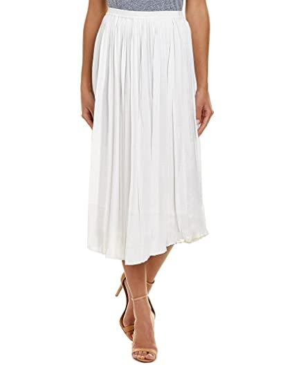 ddc5ca6fb092 Vince Camuto Women's Pleated Rumple Skirt New Ivory X-Large at ...