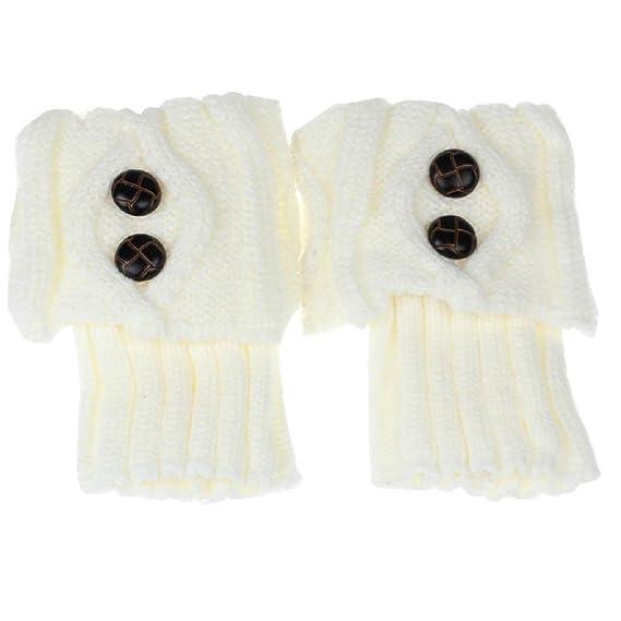 RETUROM la moda de las mujeres del invierno calentador de la pierna ...