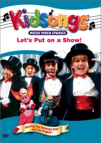 kidsongs let's put on a show