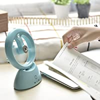USB Operated Fan for Beauty, Home, Office and Travel Water Misting Fan Portable Fan Water Spray Fan Personal Cooling Humidifier (blue)