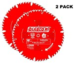 2 PACK Freud D1060X Diablo 10-Inch 60 Tooth ATB Fine Finish Saw Blade with 5/8-Inch Arbor and PermaShield Coating