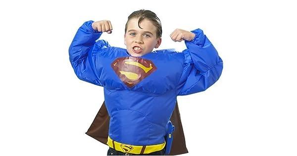 Amazon.com: Superman inflato traje W/ventilador, Mattel ...